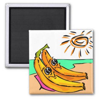 Funny Beach Wedding Idea Refrigerator Magnets