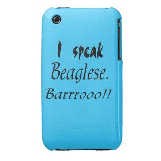 Funny Beagle Bark iPhone 3 Case-Mate Cases
