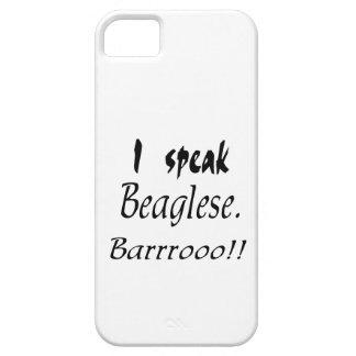 Funny Beagle Bark iPhone SE/5/5s Case