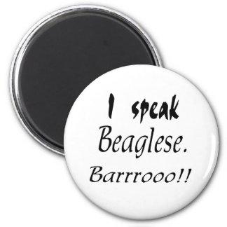 Funny Beagle Bark Refrigerator Magnets