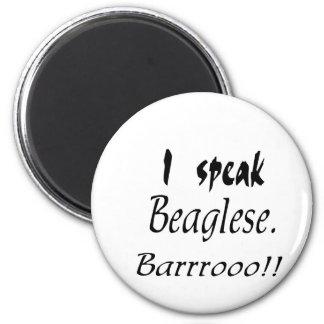 Funny Beagle Bark Fridge Magnets