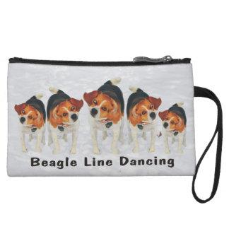 Funny Beagle Ears Flapping Beagle Line Dancing Wristlet