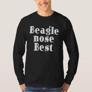 Funny Beagles : Beagle Nose Best T-Shirt