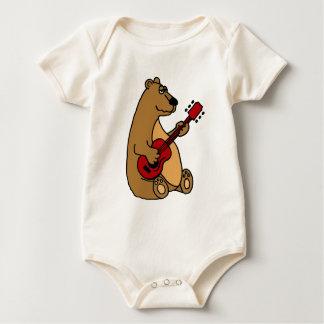 Funny Bear Playing Guitar Shirt