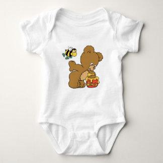 Funny Bear Sneaking Honey Shirt