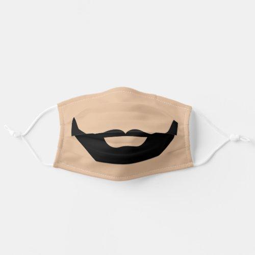 Funny Beard Facial hair Mustache Cloth Face Mask