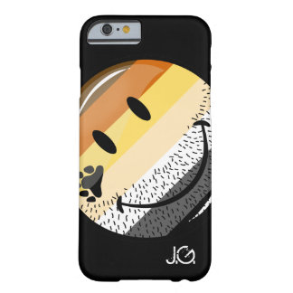 Funny Bearded Happy Gay Bear Pride Flag Barely There iPhone 6 Case