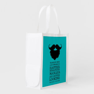 Men Reusable Grocery Bags | Zazzle