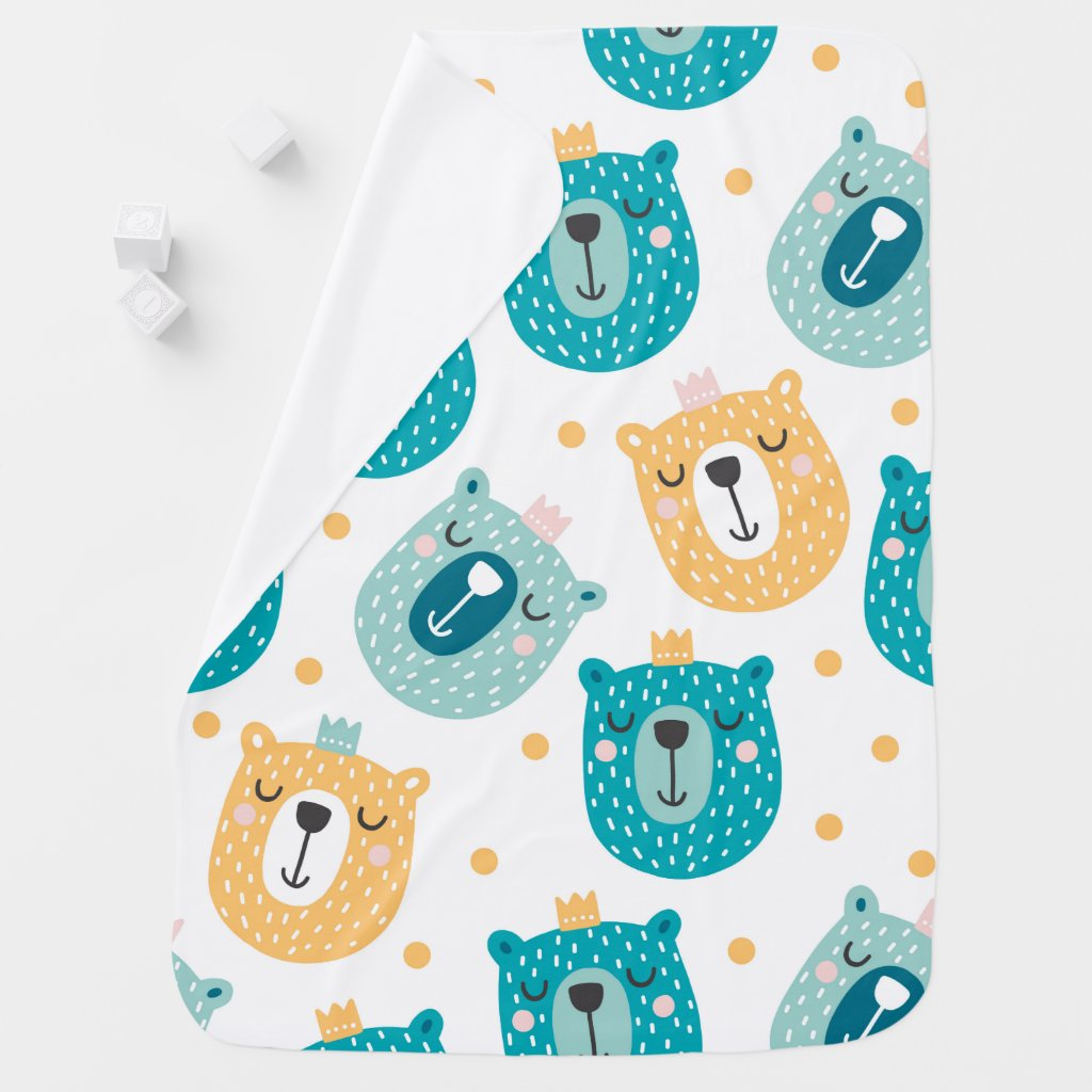 Funny Bears baby Fleece Blanket