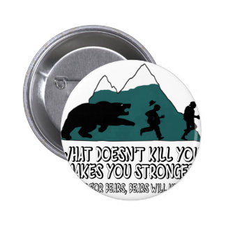 Funny bears button