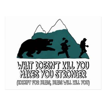 Cardsharkkid Funny bears postcard