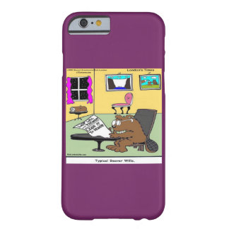 Funny Beaver Living Will Rick London iPhone 6 Case