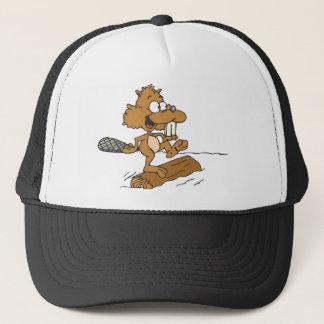 Funny Beaver Trucker Hat
