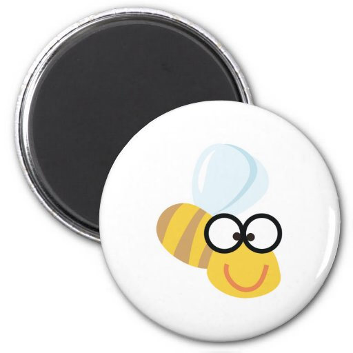 funny bee refrigerator magnets