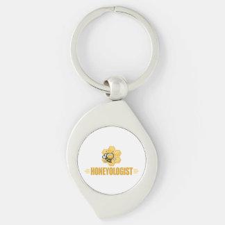Funny Beekeeper Keychain