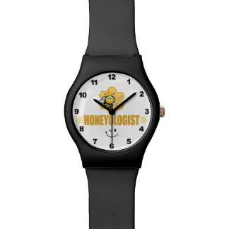 Funny Beekeeper Wristwatch