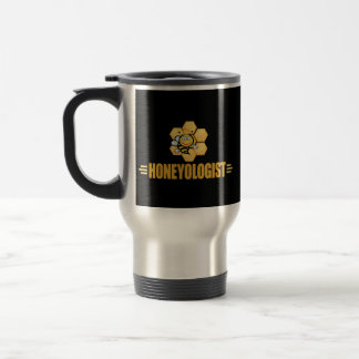 Funny Beekeeper's Travel Mug
