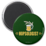 Funny Beer 2 Inch Round Magnet