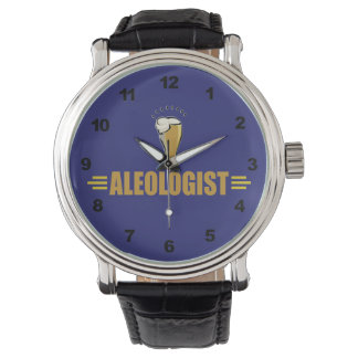 Funny Beer Ale Wrist Watch