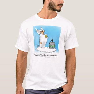 "Funny Beer Angel Tee Shirt ""Spectickles"""