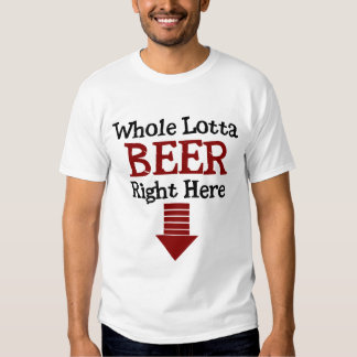Funny Beer Belly Shirt
