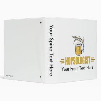 Funny Beer Vinyl Binder