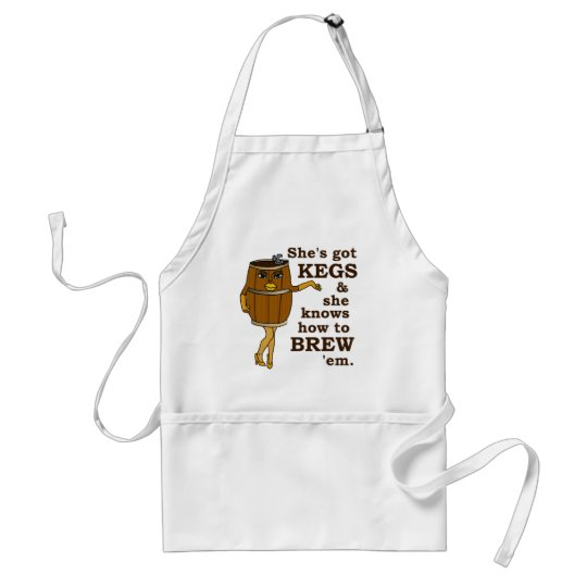 Funny Beer Brewer Adult Apron