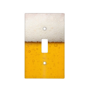 Funny Beer Bubbles Light Switch Cover