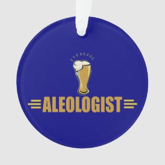 Funny Beer Drinker's Ornament
