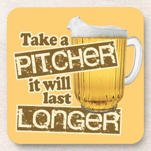 Funny Beer Drinking Humor Coaster