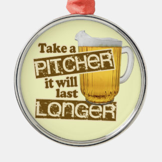 Funny Beer Drinking Humor Ornaments