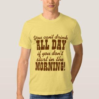 Funny Beer Drinking Humor Shirt