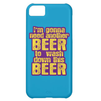 Funny Beer Drinking iPhone 5C Cover