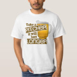 Funny Beer Drinking Parody Tee Shirt