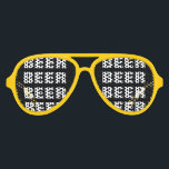 """Funny beer drinking team party shades 