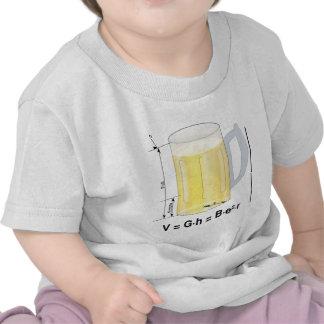 Funny Beer Formula/Equation Tshirt