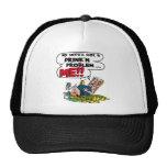 Funny Beer Gift Mesh Hats