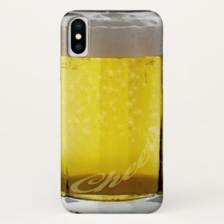 Funny Beer Glass iPhone X Case