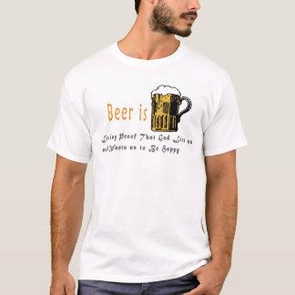 Funny Beer & Gods Love for Us  Men &Women T shirts