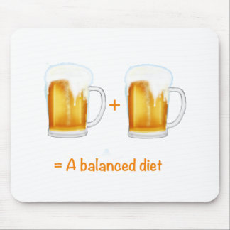 Funny Beer lovers gifts - can customise Mousepads
