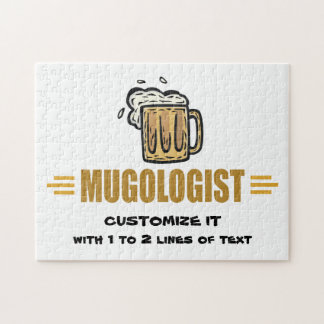 Funny Beer Making Jigsaw Puzzle