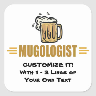 Funny Beer Making Stickers