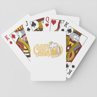Funny BEER ME IM THE GROOM Married Gift Playing Cards