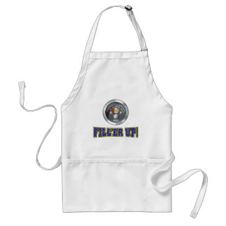 Funny - Beer Meter Fill'er Up Adult Apron