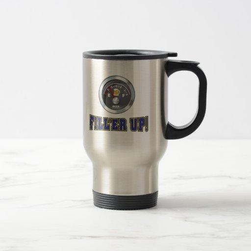 Funny - Beer Meter Fill'er Up Coffee Mug