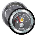 Funny - Beer Meter Fill'er Up Gauge Pin