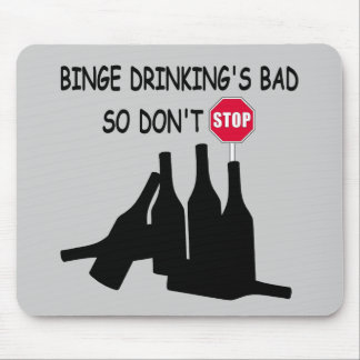 Funny Beer Mouse Pad