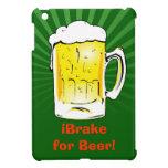 Funny Beer Mug iPad Mini Cover