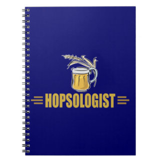 Funny Beer Spiral Notebooks