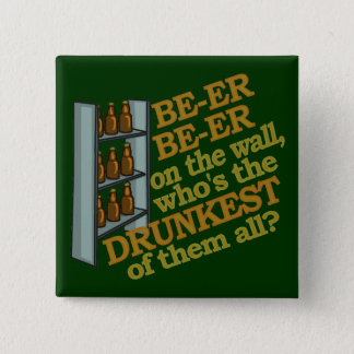Funny Beer on the Wall Button